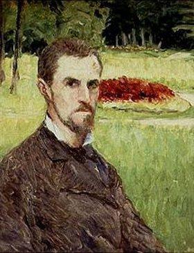 Gustave Caillebotte: Selbstbildnis