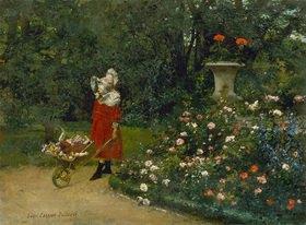 Louis Robert Carrier-Belleuse: Spaziergang im Park