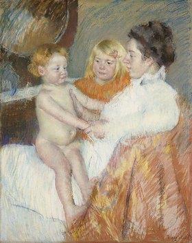 Mary Cassatt: Mutter mit Sara und dem Schwesterchen