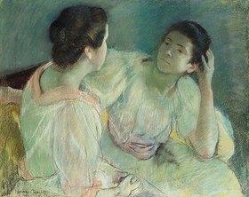 Mary Cassatt: Unterhaltung zwischen Frauen