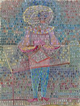 Paul Klee: Kostümierter Knabe