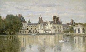 Jean-Baptiste Camille Corot: Blick zum Schloss Fontainebleau