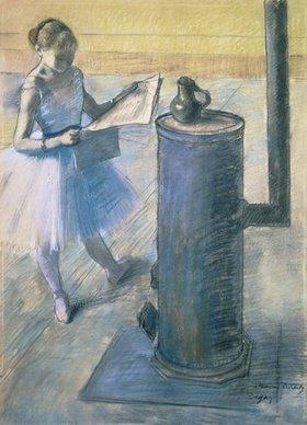 Edgar Degas: Zeitunglesende Tänzerin