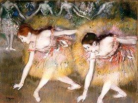 Edgar Degas: Sich verbeugende Ballerinen