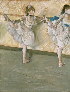 Edgar Degas: Übungen an der Stange