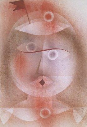 Paul Klee: Maske mit Fähnchen