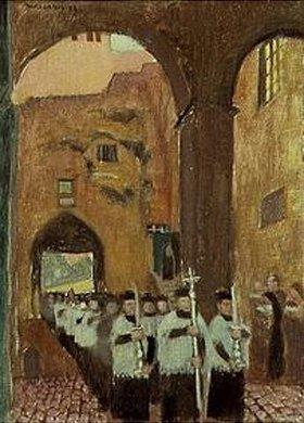 Maurice Denis: Prozession in Rom