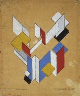 Theo van Doesburg: Construction de l'espace, Temps III