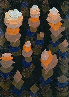 Paul Klee: Wachstum der Nachtpflanzen