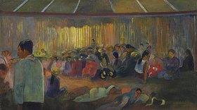 Paul Gauguin: TE FARE HYMENEE (Im Gesangshaus)