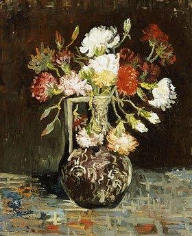 Vincent van Gogh: Blumenstrauss in Keramikkrug