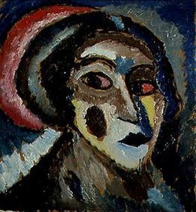 Alexej von Jawlensky: Kopf (Portrait Klamm)
