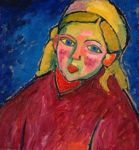Alexej von Jawlensky: Kind mit blauen Augen