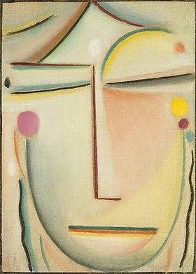Alexej von Jawlensky: Morgenlicht (abstrakter Kopf)