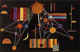 Wassily Kandinsky: Geflecht von oben, N°