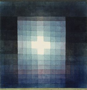 Paul Klee: Christliches Grabmal - Kreuzbild