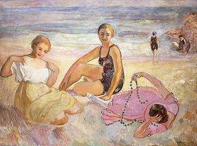 Henri Lebasque: Drei Frauen am Strand (Trois Femmes à la Plage)