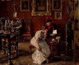 Albert von Keller: Im Salon