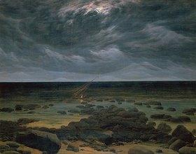 Caspar David Friedrich: Meeresküste bei Mondschein