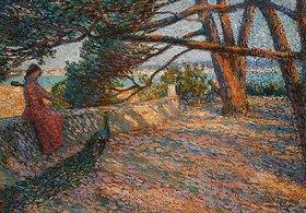 Henri Martin: Landschaft in der Provence bei Saint-Tropez