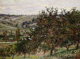 Claude Monet: Apfelbäume bei Vetheuil