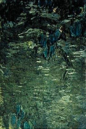 Claude Monet: Nymphéas und Spiegelbild von Weiden