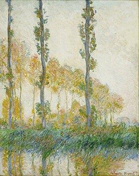 Claude Monet: Pappeln im Herbst