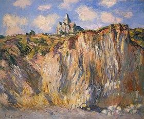 Claude Monet: Die Kirche von Varengeville im Morgenlicht
