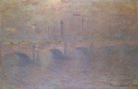 Claude Monet: London, Themse und Waterloo-Brücke im Dunst
