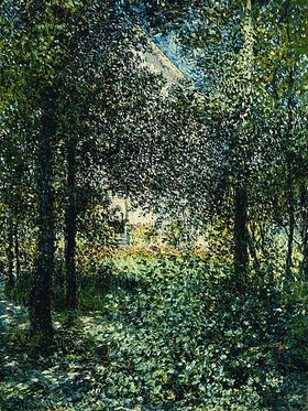 Claude Monet: Gebüsch im Garten von Argenteuil