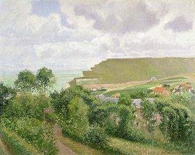 Camille Pissarro: Ansicht von Berneval