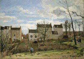 Camille Pissarro: Frühling in Pontoise