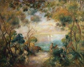Auguste Renoir: Garten in Sorrent mit Blick auf das Meer