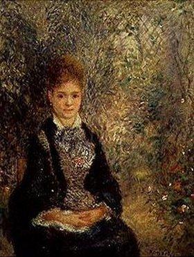 Auguste Renoir: Junge Frau im Garten (La Grisette)