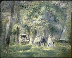Auguste Renoir: Im Park von Saint-Cloud