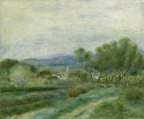 Auguste Renoir: Grüne Landschaft (La Seyne)