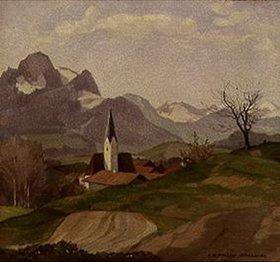 Karl Hermann Müller-Samerberg: Kirche in Törwang/Samerberg, Obb