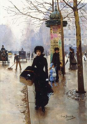 Jean Béraud: Pariserin