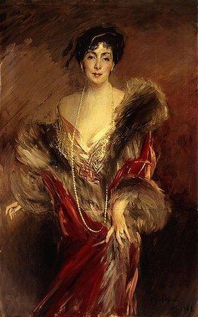 Giovanni Boldini: Bildnis der Frau Josefina A. de Errazuriz