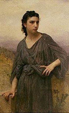 William Adolphe Bouguereau: Bildnis einer jungen Frau