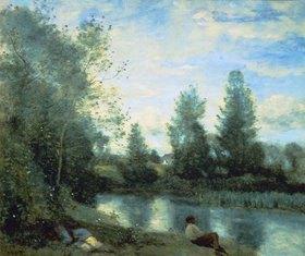 Jean-Baptiste Camille Corot: Am Fluss-Ufer