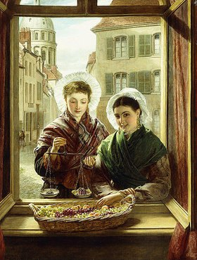William Powel Frith: An meinem Fenster in Boulogne