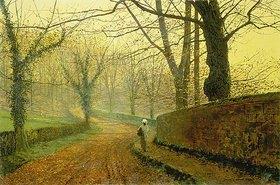 John Atkinson Grimshaw: Herbst im Stapleton Park