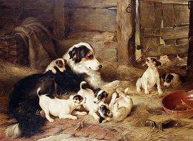 Walter Hunt: Hundefamilie