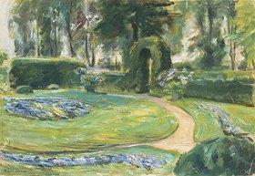 Max Liebermann: Das Rondell im Heckengarten