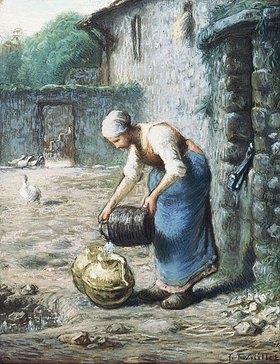 Jean-François Millet: Frau mit Wasserkrügen