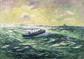 Henri Moret: Das Seerettungsboot von Audierne