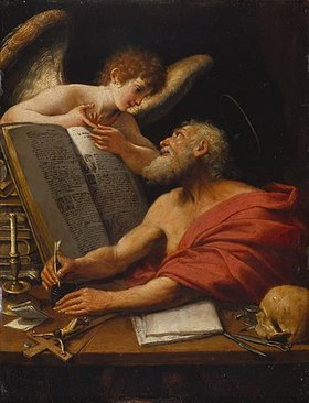 Bolognesisch: Der hl. Hieronymus und der Engel