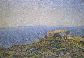 Theo van Rysselberghe: Blick vom Cap Benat, Ile du Levant