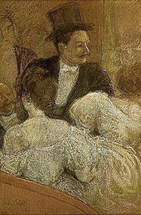 André Sinet: In der Opernloge